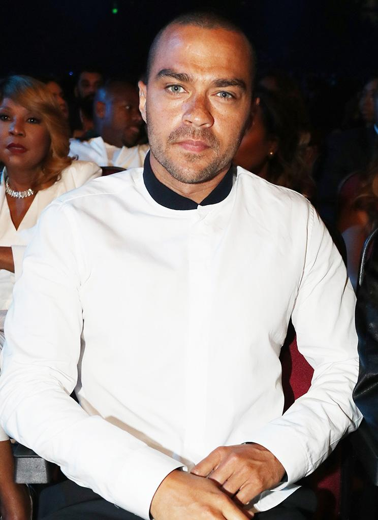 Jesse Williams has paid attention to the coverage of his divorce and he's not happy. (Photo: Johnny Nunez/Getty Images for BET)