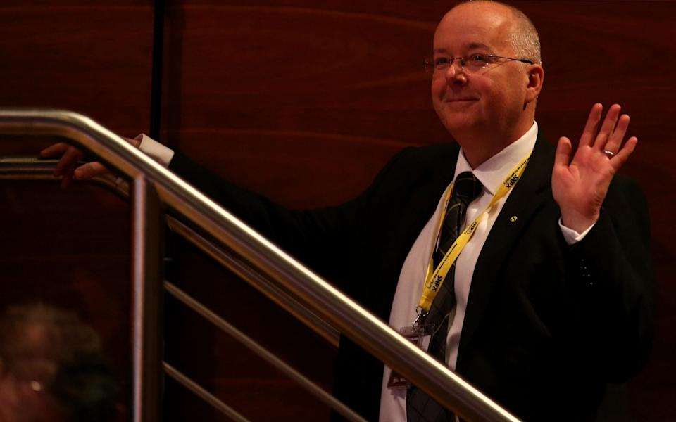 Peter Murrell, Nicola Sturgeon's husband and the SNP chief executive - Andrew Milligan/PA