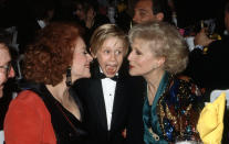 Unspecified - 1991: (L-R) Jayne Meadows, Macaulay Culkin, Betty White at the 5th Annual American Comedy Awards, April 3, 1991. (Photo by Craig Sjodin/Walt Disney Television via Getty Images)