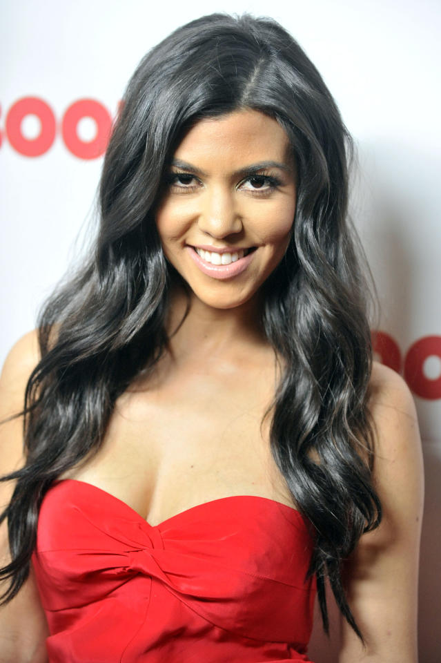 WEST HOLLYWOOD, CA - APRIL 11: Kourtney Kardashian poses for a picture as Redbook celebrates first ever family issue with the Kardashians held at The Sunset Tower Hotel on April 11, 2011 in West Hollywood, California. (Photo by Toby Canham/Getty Images)