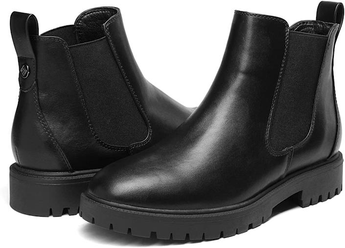 <p>These <span>DREAM PAIRS Chelsea Ankle Booties Shoes</span> ($36, originally $40) will help you tap into the trend without breaking the bank. At $36, and with so much comofort and style built into them, they are a steal.</p>