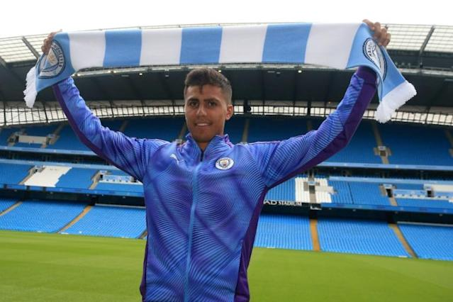 Manchester City's new signing Rodri (AFP Photo/Lindsey Parnaby)