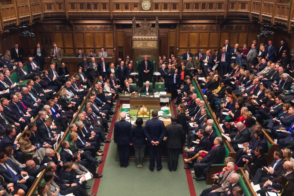 <em>MPs voted on a series of amendments on Tuesday night (PA)</em>