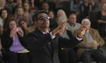 """This image released by the Sundance Institute shows Eugenio Derbez in a scene from """"CODA,""""an official selection of the U.S. Dramatic Competition at the 2021 Sundance Film Festival. (Sundance Institute via AP)"""