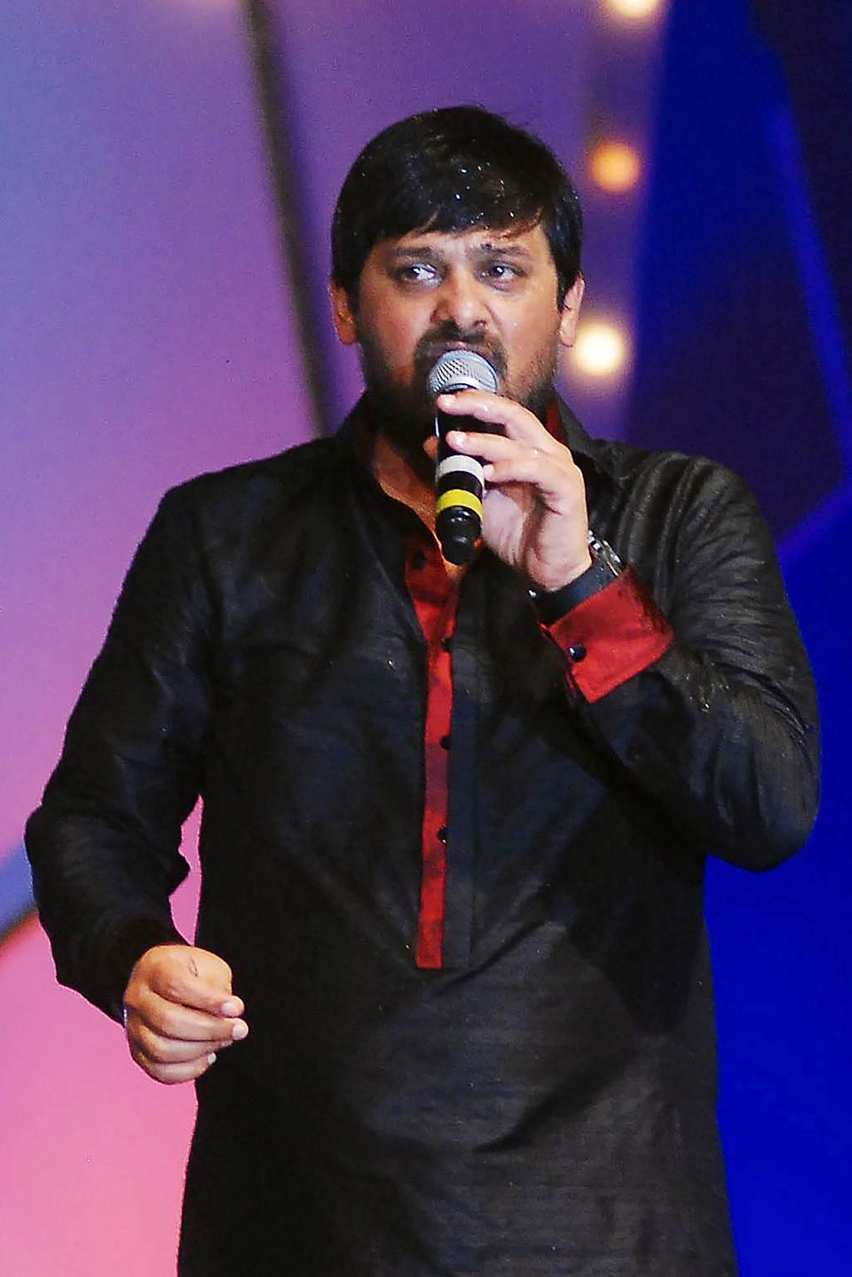 Bollywood composer, part of the popular composer duo Sajid-Wajid, passed away of a cardiac arrest on May 31, 2020. Wajid Khan, who had tested positive of COVID-19, was 42. <br>Khan had been suffering from kidney ailment and had undergone a transplant. He is known for his compositions for popular Salman Khan films such as the Dabangg franchise, Wanted, Hello Brother and Ek Tha Tiger. <br><br><em><strong>Image credit:</strong></em> (Photo by STR / AFP) (Photo by STR/AFP via Getty Images)
