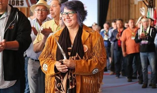 RoseAnne Archibald is the new national chief of the Assembly of First Nations. (Submitted by Laura Barrios - image credit)
