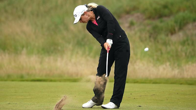 Lindsey Weaver goes back to basics to move into contention at Royal Troon