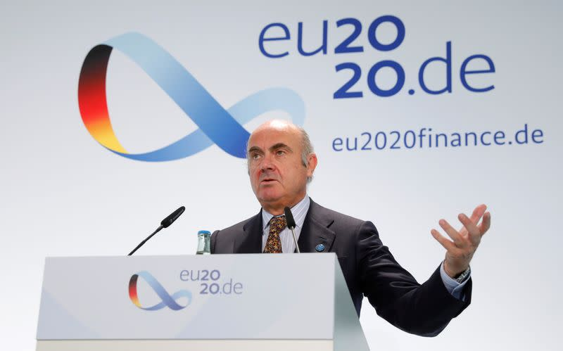 ECB does not target the exchange rate, but it is an important variable - de Guindos