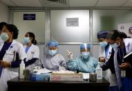 Nepal starts vaccinating frontline medical workers
