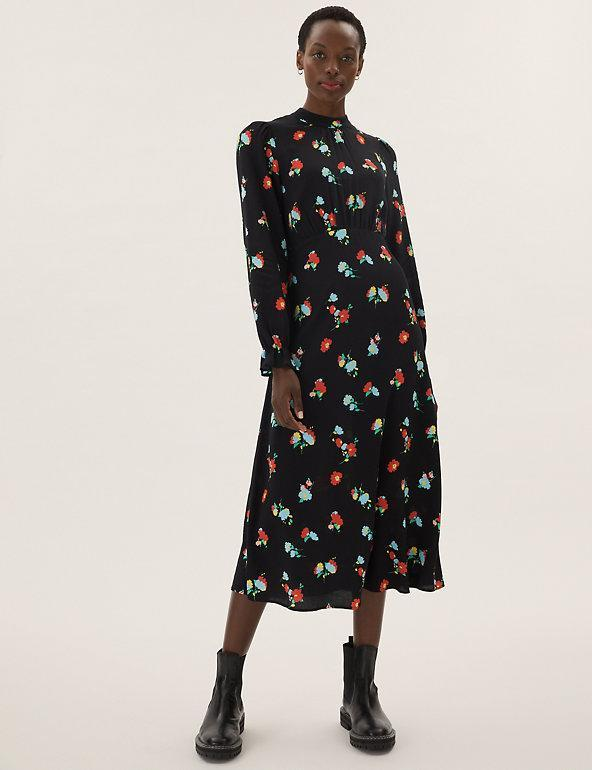 The dress is super versatile and can be styled in numerous ways. (Marks and Spencer)