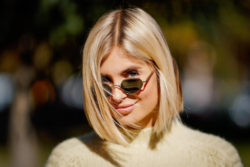 <p>A warm honey-blond shade is perfect for a Capricorn. The color is practical and super wearable but still feels like a fresh take on your traditional blond color.</p>