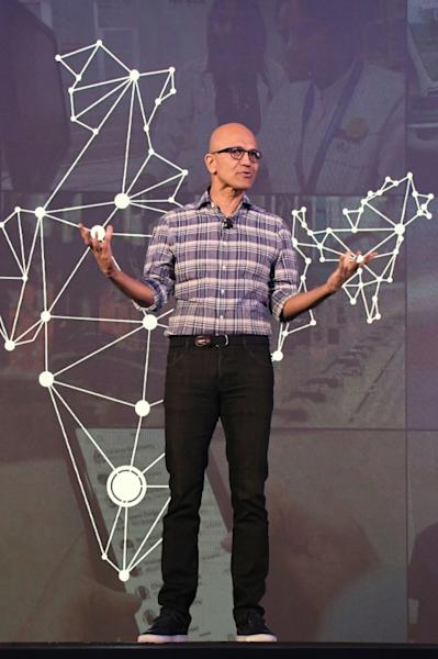 Microsoft CEO Satya Nadella says the deal for ZeniMax will give his firm a bigger stake in the fast-growing game segment