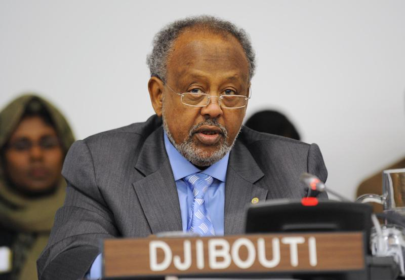 Ismael Omar Guelleh, President of Djibouti, pictured at a UN summit on September 24, 2011 in New York