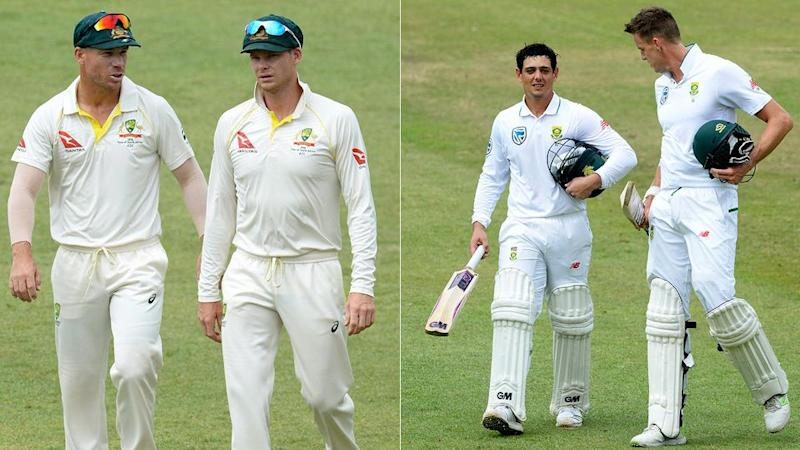 Smith denies claims the Aussie's used personal sledges. Pic: Getty