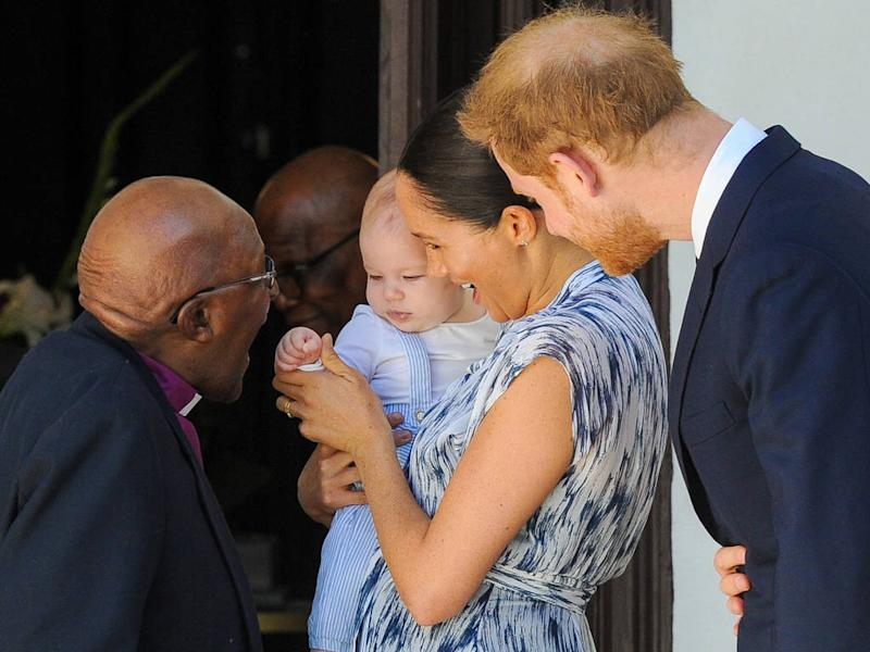 Baby Archie makes debut on Duke and Duchess of Sussex's Africa tour