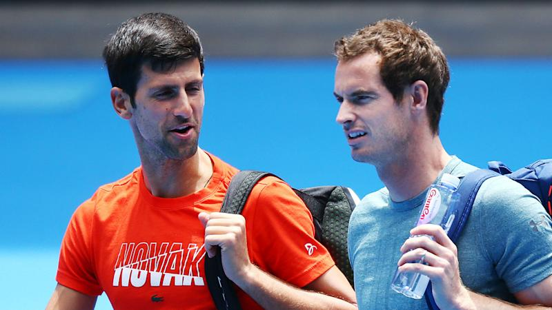 Murray, Djokovic salute Kyrgios serve