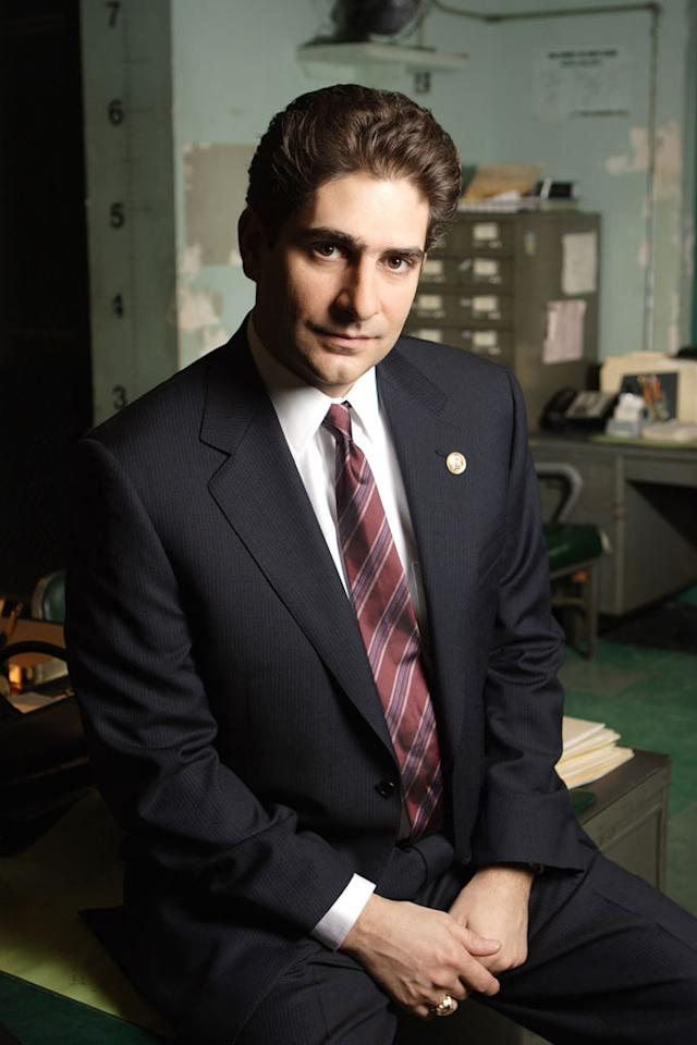 """Michael Imperioli as Det. Nick Falco on """"Law & Order."""""""