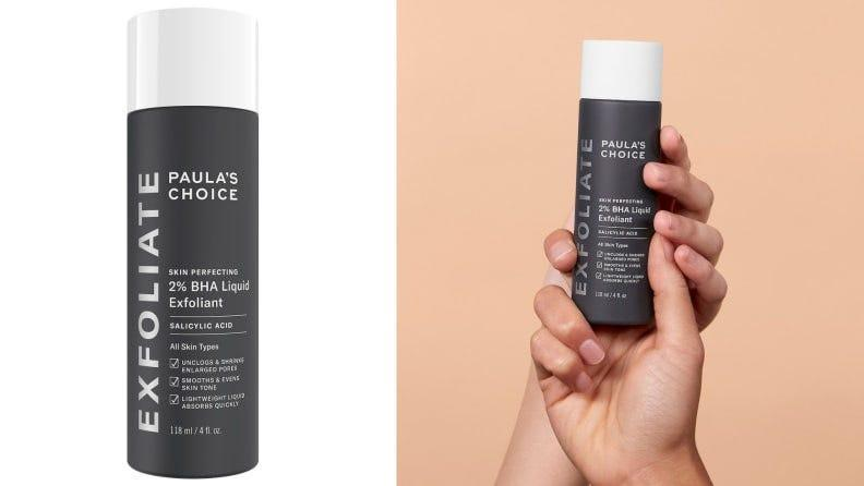Smaller pores and less noticeable texture is in your future if you give this 2% liquid BHA a try.