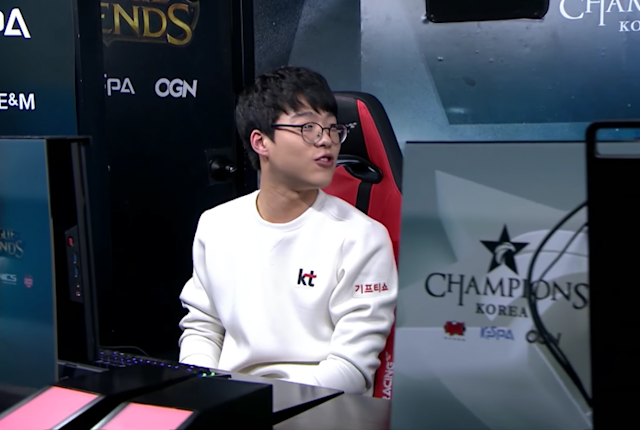 KT Rolster's Smeb (lolesports)