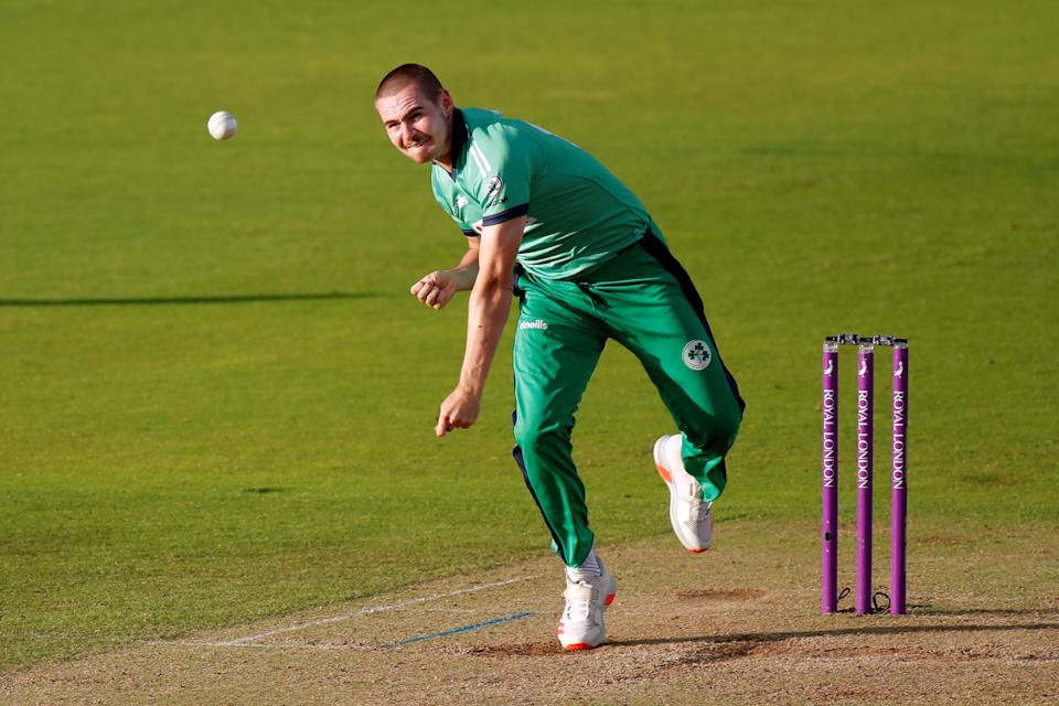 Little took 4-45 on his ODI debut against England in 2019, including the wicket of former Ireland player Eoin Morgan