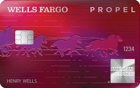 Wells fargo and american express introduce new propel card with wells fargo and american express introduce new propel card with triple points and 0 annual fee1 reheart Images