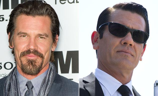 """Josh Brolin as Young Agent K (fashioned after Tommy Lee Jones) in """"Men in Black 3"""""""
