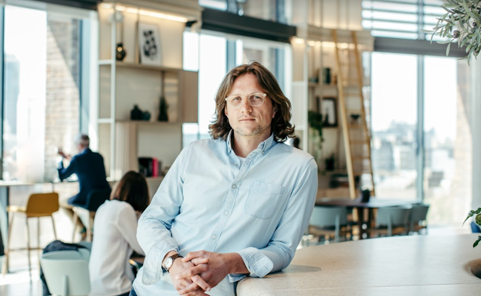 Nick Taylor, clinical psychologist, co-founder and CEO of Unmind. Photo: Unmind