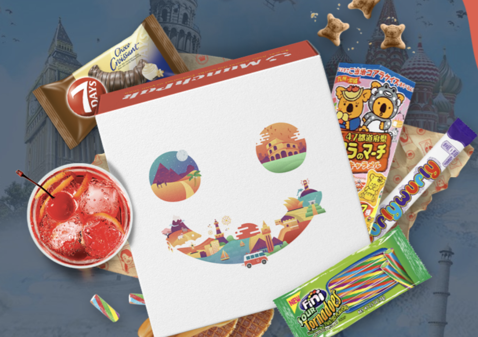 """<p>Customize your MunchPak box to contain five, 10, or 20 snacks from around the world. You might just find your new favorite food while adding a country to your travel bucket list.</p><p><a class=""""link rapid-noclick-resp"""" href=""""https://munchpak.com/subscription"""" rel=""""nofollow noopener"""" target=""""_blank"""" data-ylk=""""slk:SUBSCRIBE"""">SUBSCRIBE</a></p>"""
