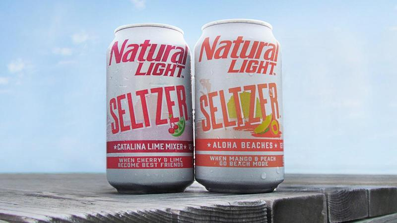 Natural Light now makes hard seltzer, and it's actually really good