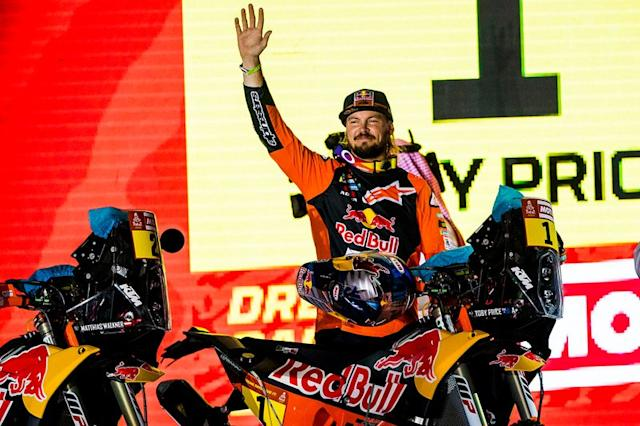"#1 Red Bull KTM Factory Racing: Toby Price <span class=""copyright"">Red Bull Content Pool</span>"