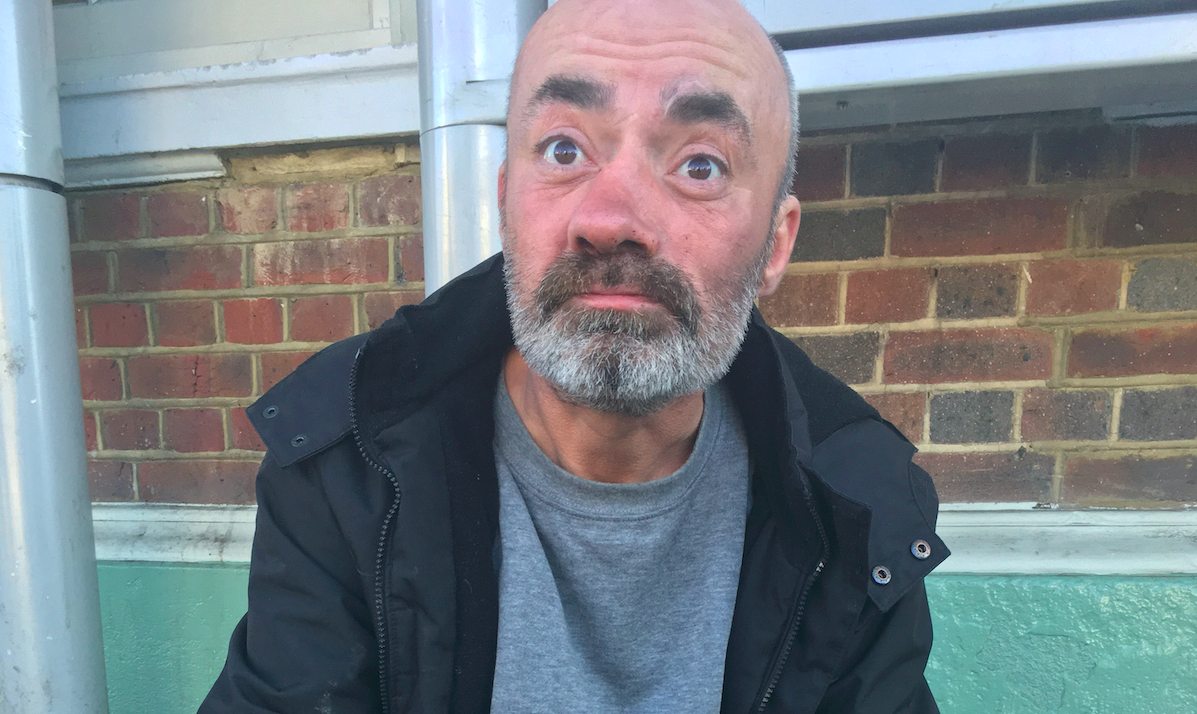 <em>Homeless man Toby Sawyer said he had no regrets about stabbing a friend to death (SWNS)</em>