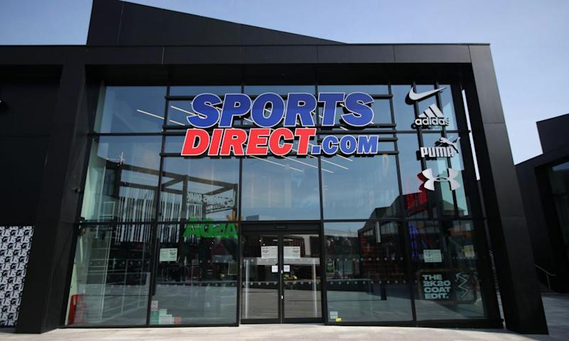 A Sports Direct store