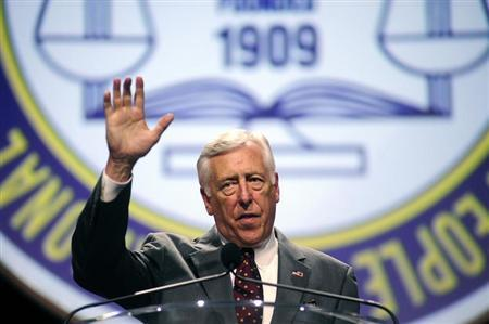 U.S. Congressman Steny Hoyer speaks to the 2013 NAACP convention in Orlando