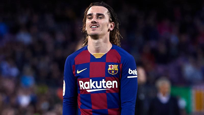 Dembele & Griezmann return to Barca training ahead of Champions League clash with Napoli