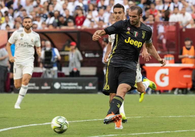 """Point of reference"" - veteran Juventus defender Giorgio Chiellini has returned to the Italian national team"