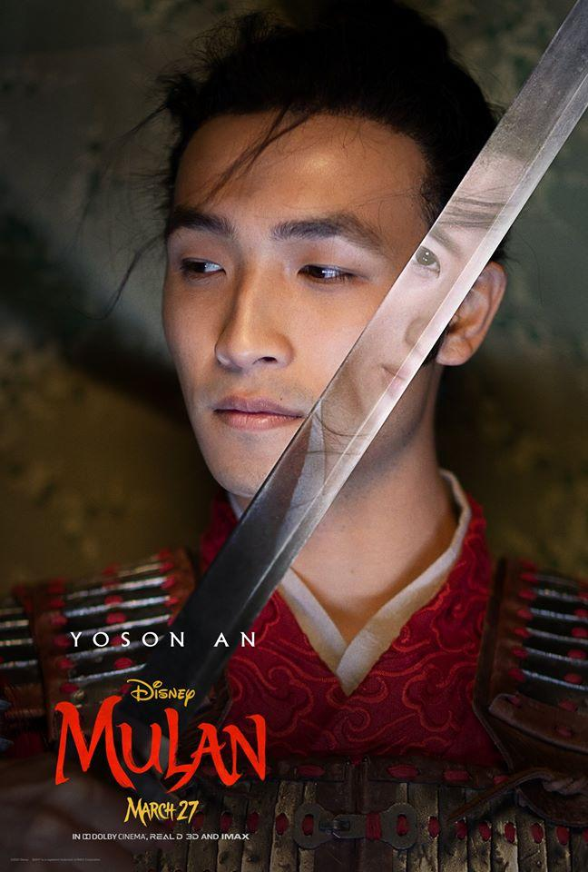Yosan An in Mulan (Credit: Disney)