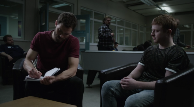 Spector now knows how his story will end, but Bailey (Conor MacNeill) doesn't