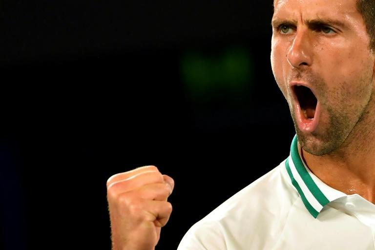 Serbia's Novak Djokovic beat Aslan Karatsev to reach the final