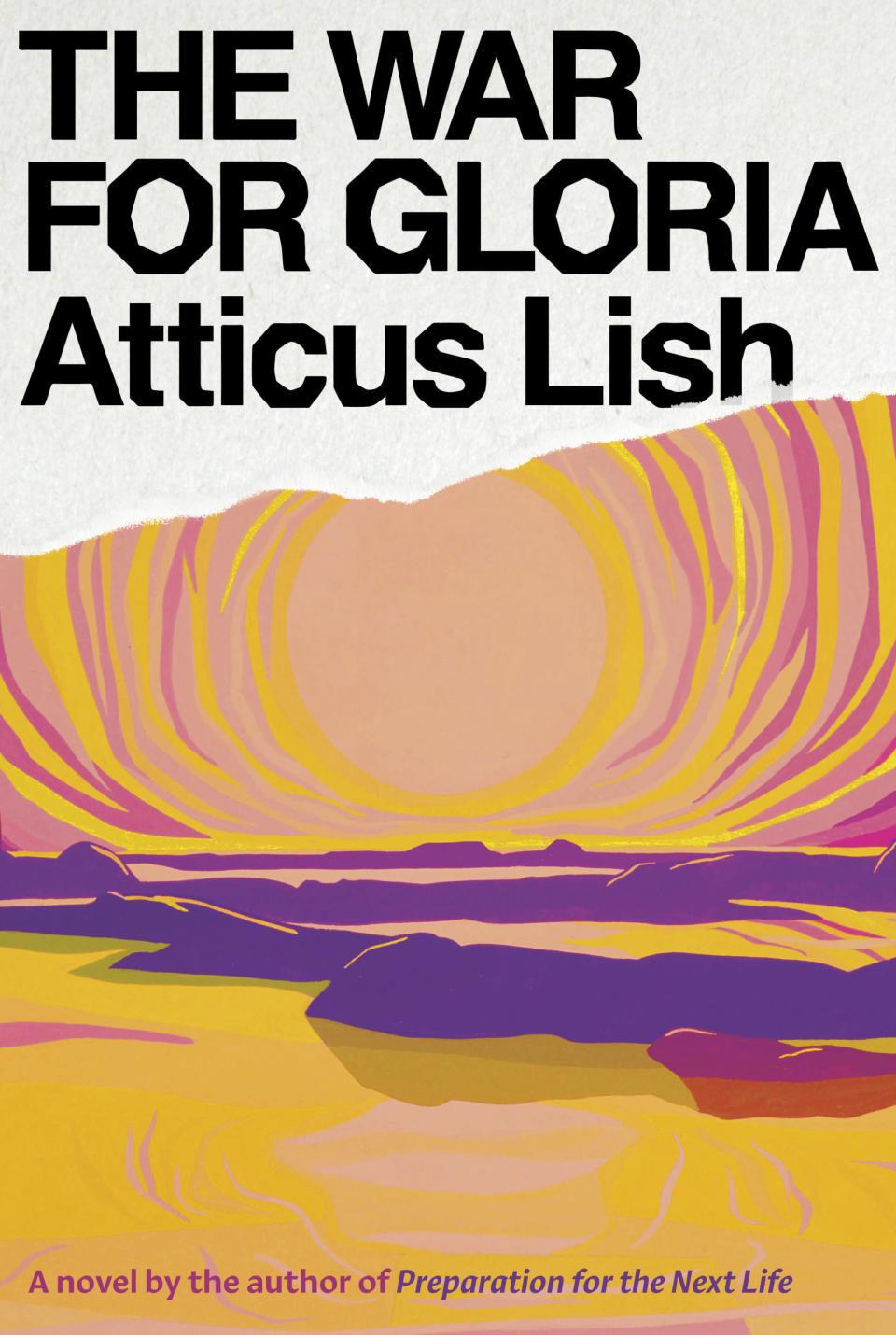 """This cover image released by Knopf shows """"The War for Gloria,"""" a novel by Atticus Lish, releasing Sept. 7. (Knopf via AP)"""