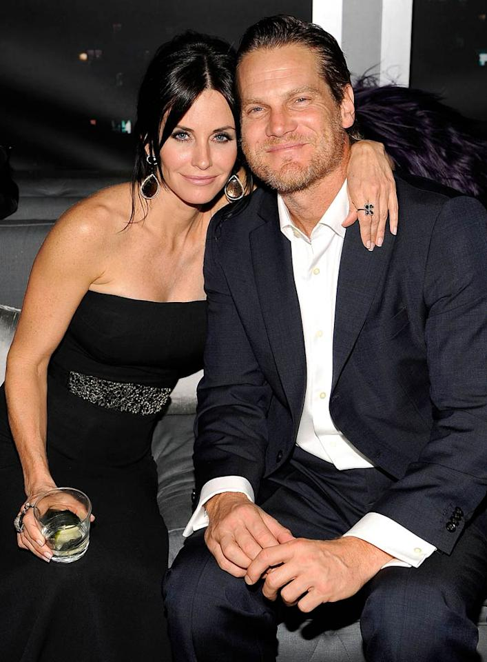 """Even though it's the first time in 11 years that Courteney Cox has spent Christmas without David Arquette, <i>Star</i> magazine says """"she's not staying at home stewing."""" In fact, Cox and """"her beau and 'Cougar Town' co-star, Brian Van Holt, are planning a cozy getaway, likely in Cabo San Lucas, Mexico, or Hawaii,"""" reports the mag. For the exclusive on which exotic location they're going to, and how romantic they've planned their trip to be, log on to <a href=""""http://www.gossipcop.com/courteney-cox-brian-van-holt-vacation-trip-cabo-mexico-hawaii/"""" target=""""new"""">Gossip Cop</a>. Larry Busacca/<a href=""""http://www.gettyimages.com/"""" target=""""new"""">GettyImages.com</a> - January 17, 2010"""