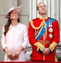 <p>Back when she was expecting Prince George, Kate stood on the balcony of Buckingham Palace and watched the annual Trooping of the Colour ceremony. </p>
