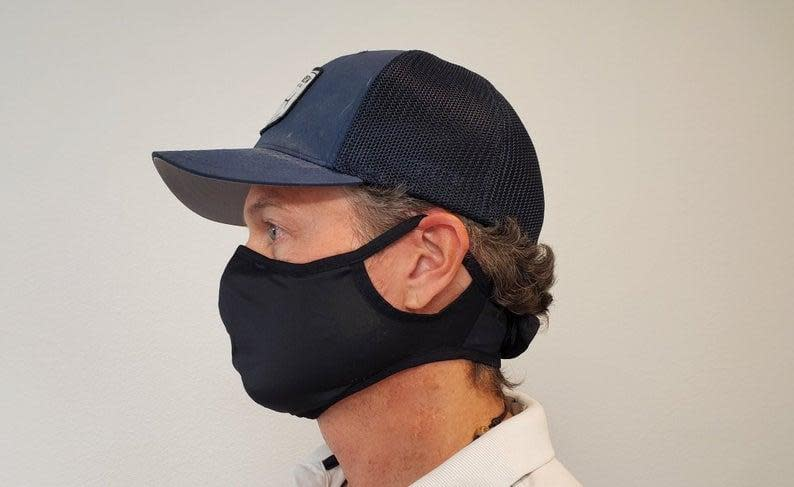 <p>This <span>Active Sports Face Mask</span> ($15) is super secure.</p>