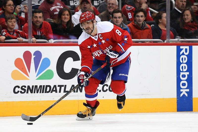 Alex Ovechkin of the Washington Capitals, pictured on January 27, 2016, will rest a nagging lower body injury instead of playing in the All-Star Game
