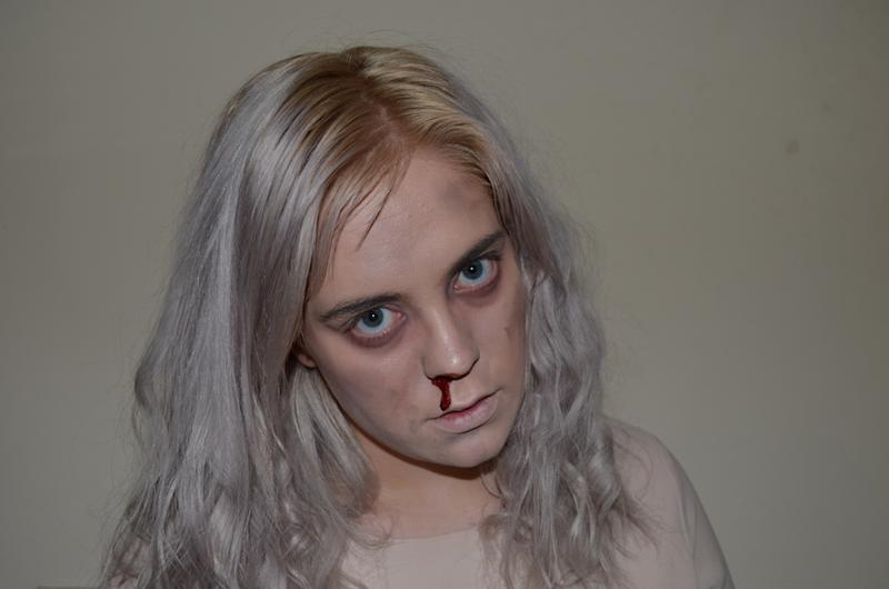 "If you want to be Eleven from ""Stranger Things"" for Halloween, here's a fun and easy makeup tutorial"