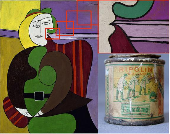 Picasso's Genius Revealed: He Used Common House Paint