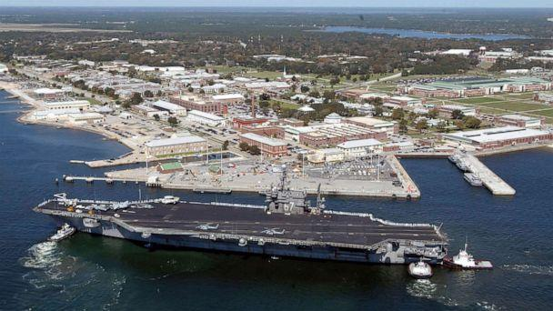 Gunman dead after opening fire at US Navy base in Florida: Navy