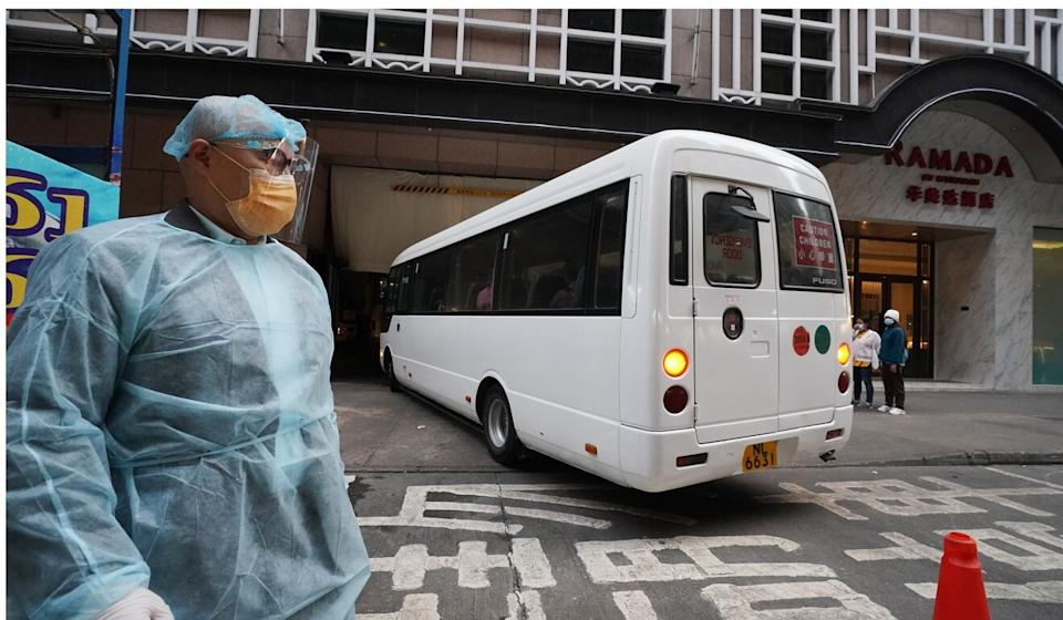 Travellers who arrive in Hong Kong must quarantine in a hotel. Photo: Felix Wong