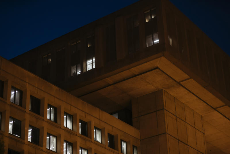 The J. Edgar Hoover Building, where the FBI is headquartered, in Washington.