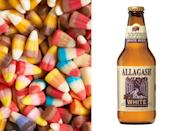 """<div class=""""caption-credit""""> Photo by: Bon Appetit</div><b>Candy corn & Allagash White Ale <br></b> <br> This hazy witbier was brewed with coriander and Curaçao orange peel, ingredients with subtle notes of citrus and spice that get a serious boost from the caramelly sweetness of candy corn. The crisp beer offsets the super-sweet candy with its light body and bubbly carbonation. <p> <b>See more:</b> <br> <b><span>7 Most Common French Toast Mistakes <br></span></b> <b><a rel=""""nofollow noopener"""" href=""""http://www.bonappetit.com/recipes/slideshow/25-ways-to-use-sriracha?slide=1?mbid=synd_yshine"""" target=""""_blank"""" data-ylk=""""slk:25 Ways to Use Sriracha"""" class=""""link rapid-noclick-resp"""">25 Ways to Use Sriracha</a></b> <br> </p>"""