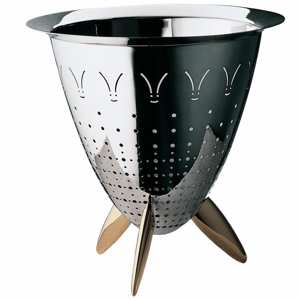 <p>Making pasta or salad just got a lot easier with this <span>Max Le Chinois Colander</span> ($375).</p>